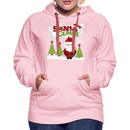 Santa Claus - Frauen Premium Hoodie