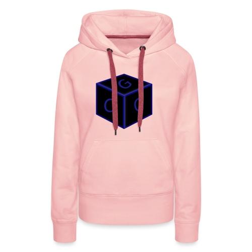 CGG Logo Cube - Women's Premium Hoodie