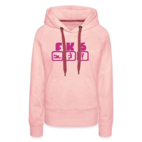 FKSwear The Original - Frauen Premium Hoodie