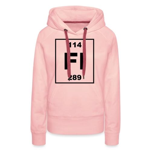 Flerovium (Fl) (element 114) - Women's Premium Hoodie