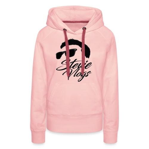 Stevie Vlogs Logo - Women's Premium Hoodie