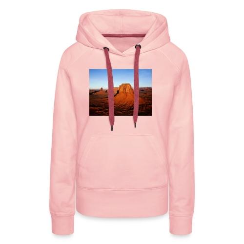 Desert - Sudadera con capucha premium para mujer