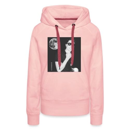 Moonlight 1 - Sweat-shirt à capuche Premium pour femmes