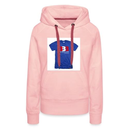 ClassicBBBroyalredwhite 1024x1024 - Vrouwen Premium hoodie