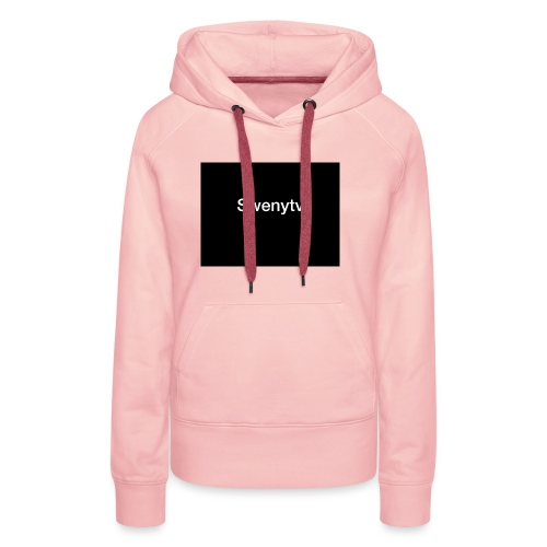 swenytv zwart logo - Vrouwen Premium hoodie