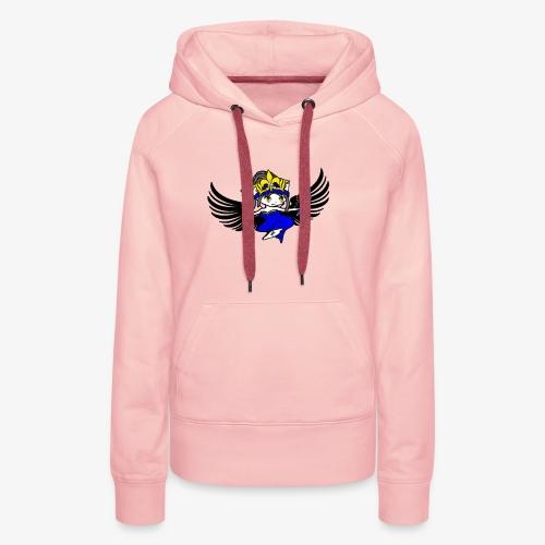 Queen Leadz - Sweat-shirt à capuche Premium pour femmes