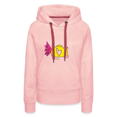 Iel02 - Sweat-shirt à capuche Premium pour femmes