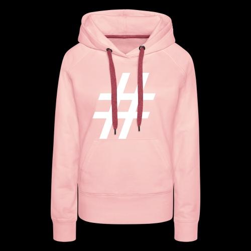 Hashtag Team - Frauen Premium Hoodie