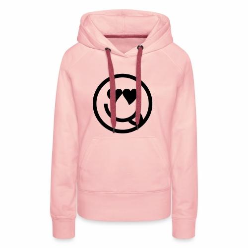 EMOJI 19 - Sweat-shirt à capuche Premium pour femmes