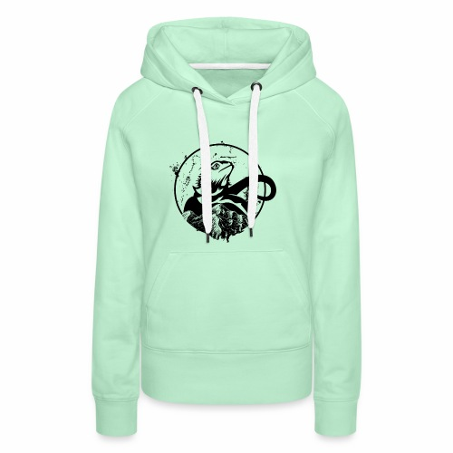 Bearded Dragon - Frauen Premium Hoodie