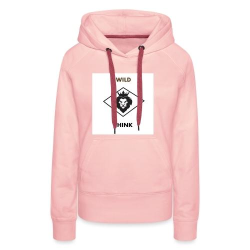 lyon - Sweat-shirt à capuche Premium pour femmes