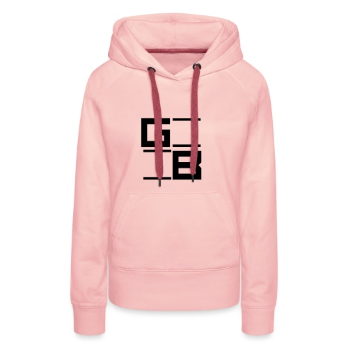logo gwn besher - Vrouwen Premium hoodie