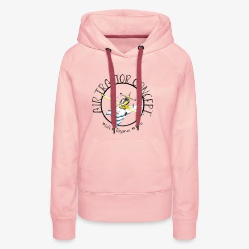 Lift élégance brio - Sweat-shirt à capuche Premium pour femmes