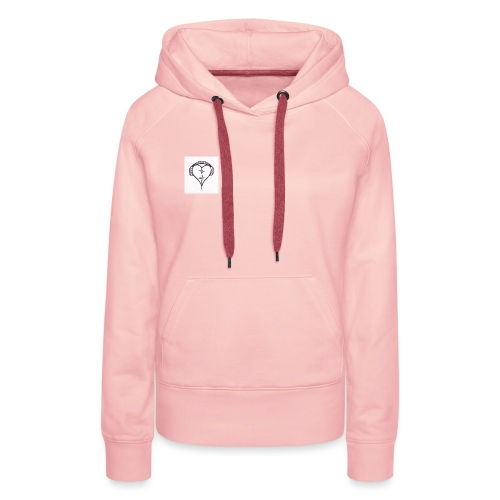 love music - Sweat-shirt à capuche Premium pour femmes