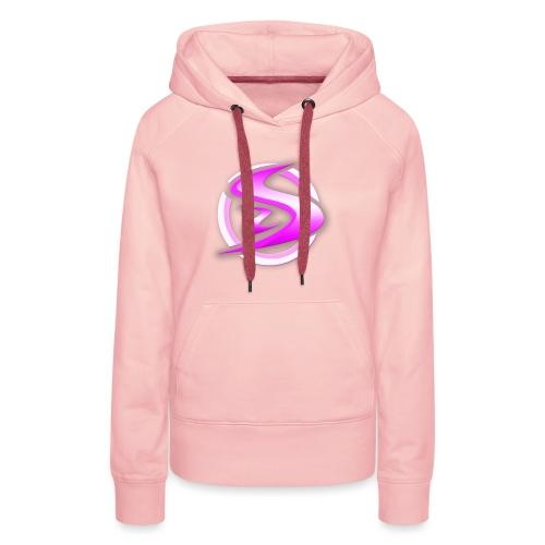 StormSense Logo Pink png - Women's Premium Hoodie