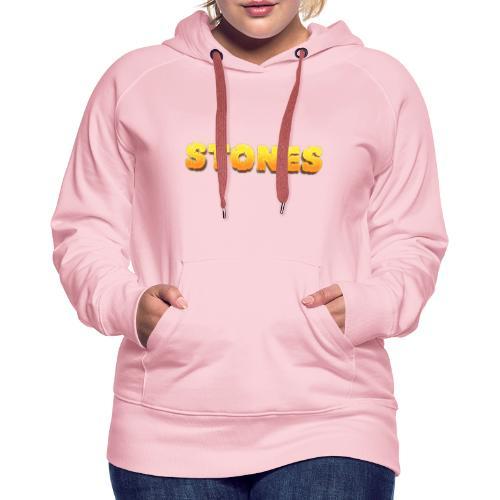 Stones - Premiumluvtröja dam