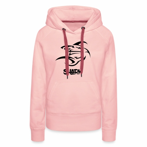 Shark hoodie - Sweat-shirt à capuche Premium pour femmes