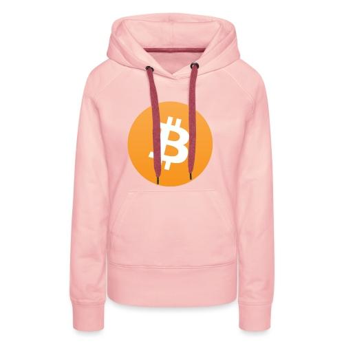 Bitcoin - Vrouwen Premium hoodie