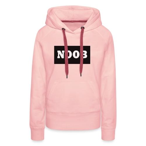 Noob Gaming Language - Vrouwen Premium hoodie