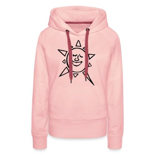 soleil_teremahana - Sweat-shirt à capuche Premium pour femmes