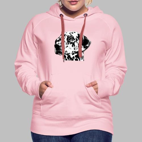 Dalmatiner Kopf Hund - Frauen Premium Hoodie