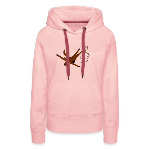 Cerf-Volant - Sweat-shirt à capuche Premium pour femmes