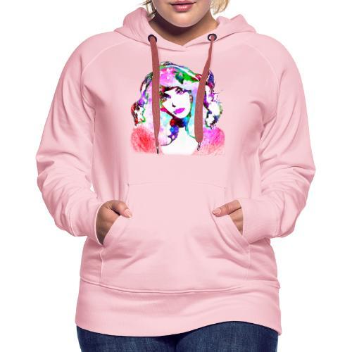 Painted Kate - Frauen Premium Hoodie