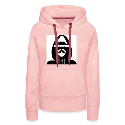 Biturzartmon Hoodie Motiv schwarz/weiss - Frauen Premium Hoodie