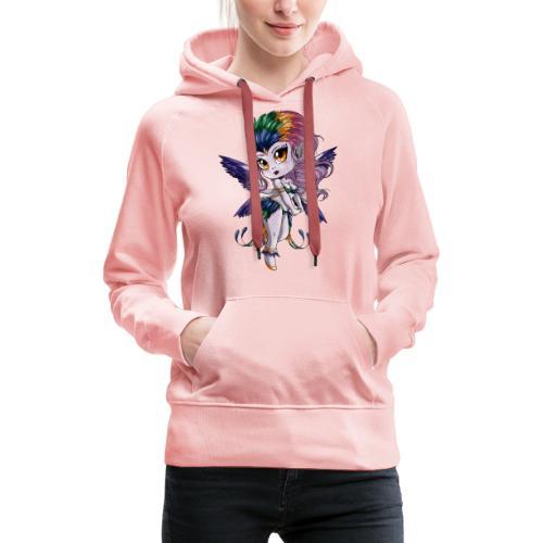 Chibi Harpie - Sweat-shirt à capuche Premium pour femmes