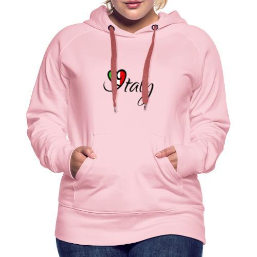 ITALY - Sweat-shirt à capuche Premium pour femmes