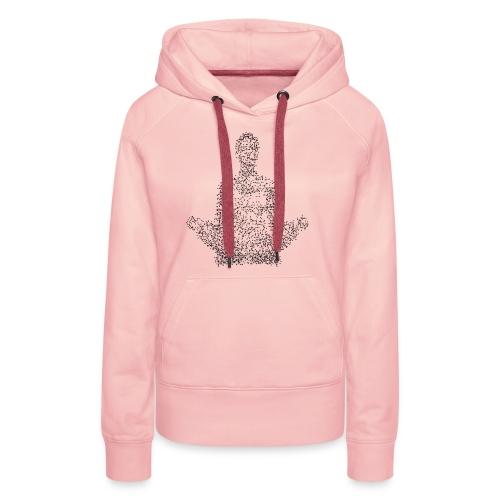 Mediter - Sweat-shirt à capuche Premium pour femmes