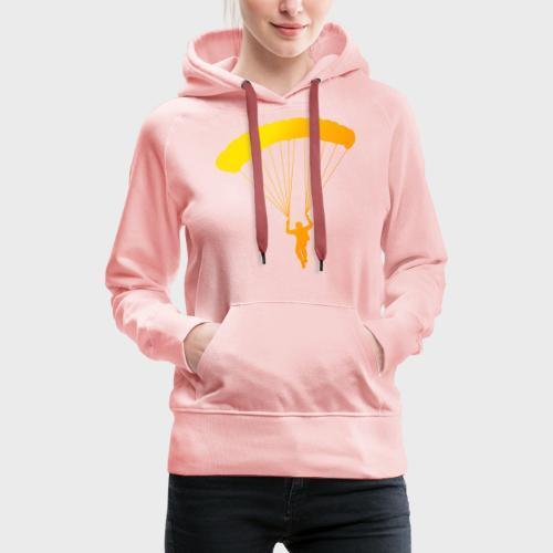 Colorfull Skydiver - Frauen Premium Hoodie