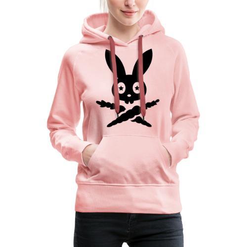 Skully Sternauge auge hase kaninchen bunny häschen - Frauen Premium Hoodie