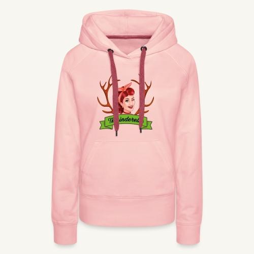 Original Tschinderella.com Logo - Frauen Premium Hoodie