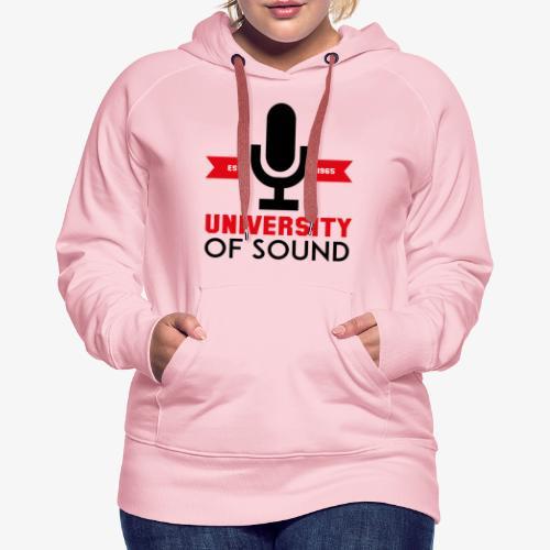 University 4 - Sudadera con capucha premium para mujer
