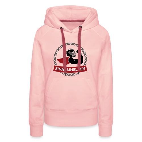 Einarmhelden 3-farbig - Frauen Premium Hoodie