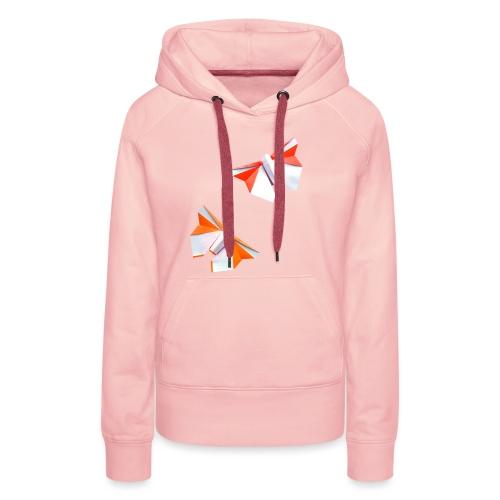 Butterflies Origami - Butterflies - Mariposas - Women's Premium Hoodie