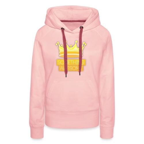 Golden logo - Women's Premium Hoodie