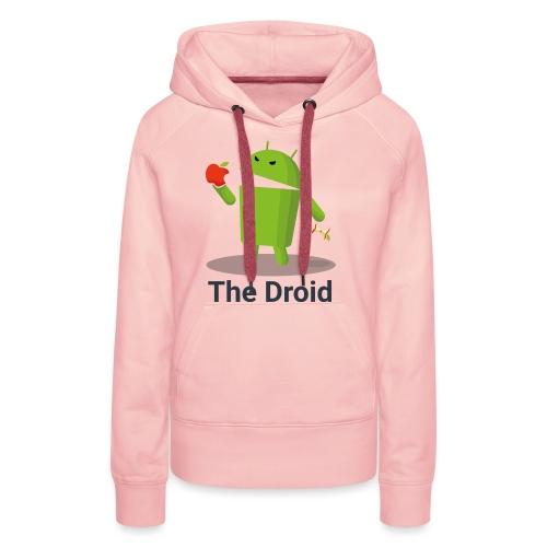 The Droid Spille - Felpa con cappuccio premium da donna