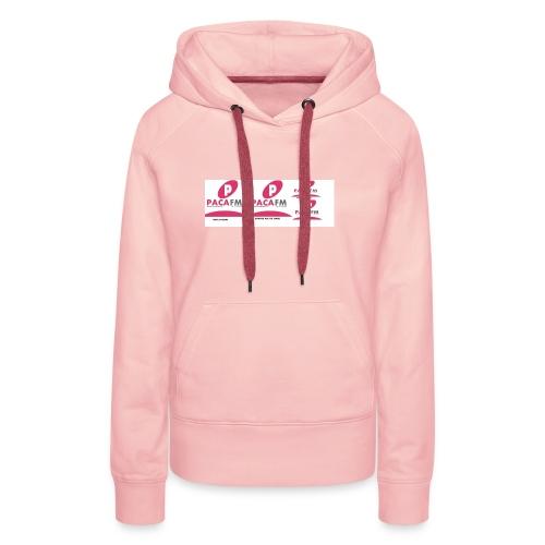 pacafm - Sweat-shirt à capuche Premium pour femmes