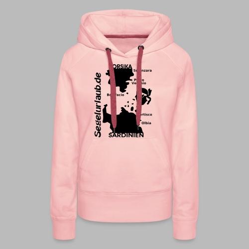 Korsika Sardinien Mori Shirt - Frauen Premium Hoodie