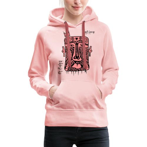 No Rules Just Love by BuBu Collection - Women's Premium Hoodie