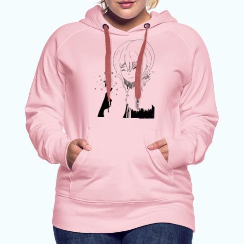 MANGA STAR real drawing - Women's Premium Hoodie