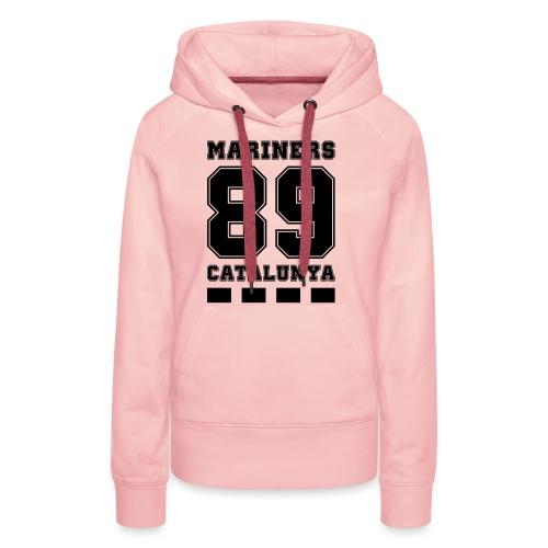 MarinersCatalunya - Sudadera con capucha premium para mujer