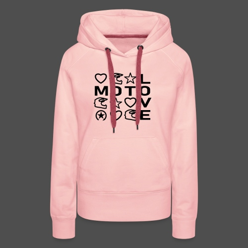 MOTOLOVE 9ML01 - Women's Premium Hoodie