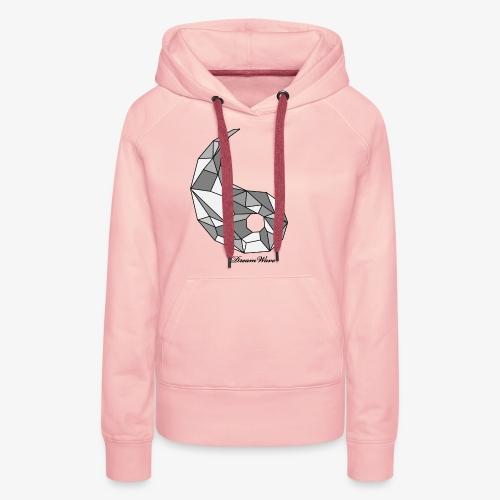 DreamWave Yang - Sweat-shirt à capuche Premium pour femmes