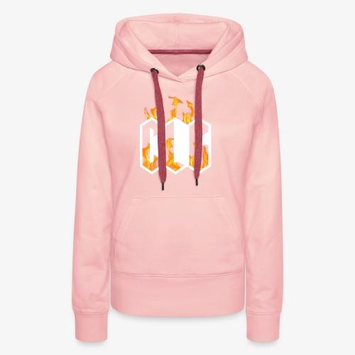 CLG DESIGN - Sweat-shirt à capuche Premium pour femmes
