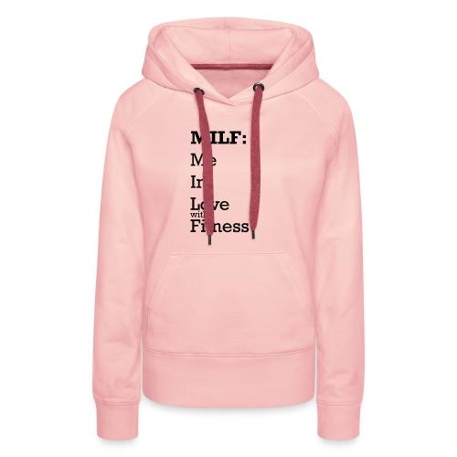 MILF - Vrouwen Premium hoodie