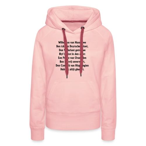 wilhelmus - Vrouwen Premium hoodie