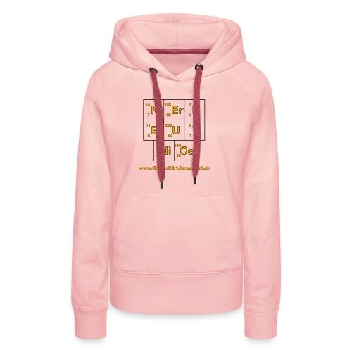 Nerd but nice - Frauen Premium Hoodie
